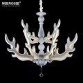 Modern LED Chandelier Light Fixture Deer Horn LED Acrylic Lamp Hanging Suspension Home Lighting with various sizes MD81777