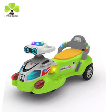 China Factory High Quality Best Price Classic Type Saleable Item PU Wheel Kids Toy Ride On Swing Car