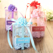 customized variety plastic clear candy box for wedding,birthday,festival gift