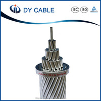 Aluminium and steel Stranding wire aluminium steel reinforced conductor ACSR cable