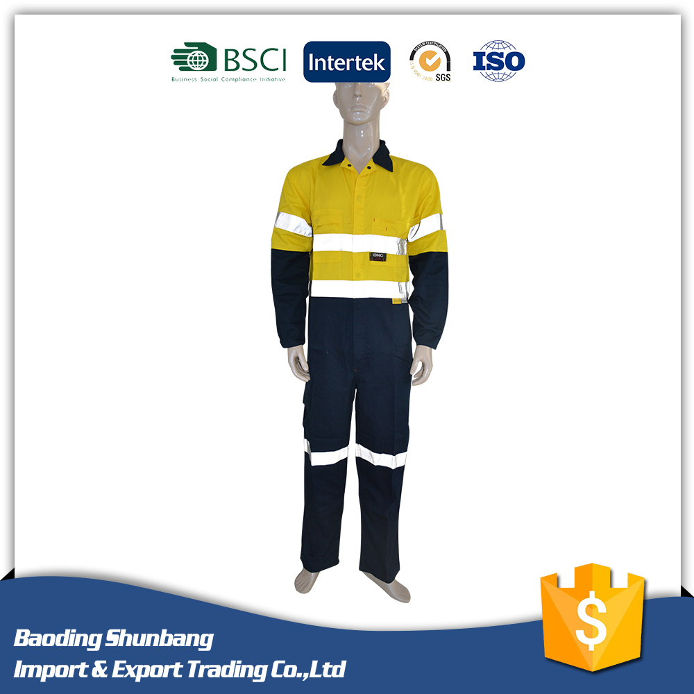 Hot Sale FR Coverall Fireproof Garments Safety Workwear Coverall