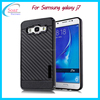 2017 Hot selling mobile phone case for Samsung galaxy J7 carbon fiber stand back cover for Samsung Galaxy J7 case