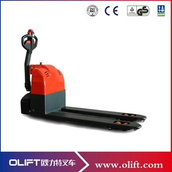 1.5 ton pallet truck full battery operated forklift trolley pallet