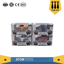 wholesale factory custom small sizes cartoon toy diecast cars 1 36 for kids