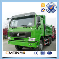China widely used Sino HOWO brand 30 ton 6x4 dump truck for sale in dubai