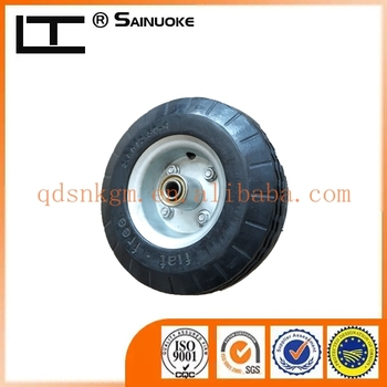 PU Material Solid Wheelbarrow Wheel