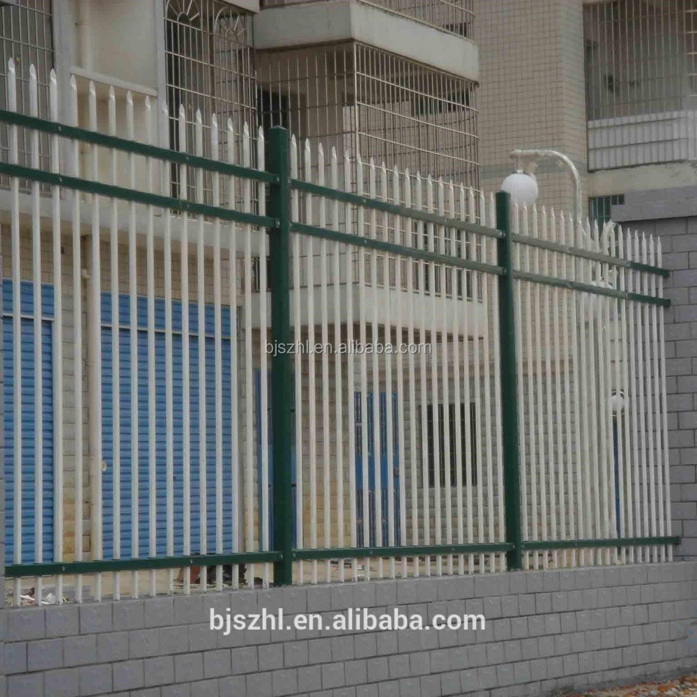 modern design fence wrought iron from anping factory
