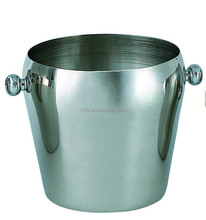 Classics Stainless Steel Ice Bucket 1L single wall ice bucket