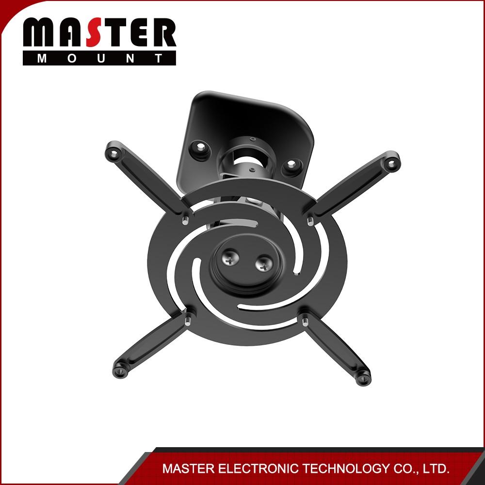 Retractable motorized electric projector ceiling mounts for Motorized ceiling projector mount