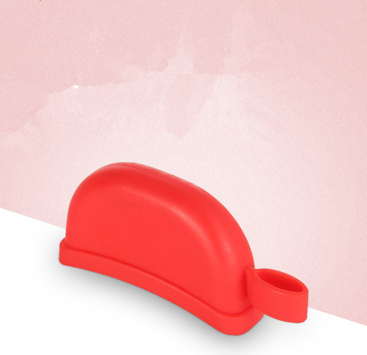 Fashional health silicone material heat resistant pot handle