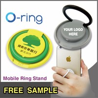 Free_Sample O-ring cheap Promotional gifts Plastic smart mobile phone holder