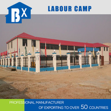 Modular prefab house labor camp