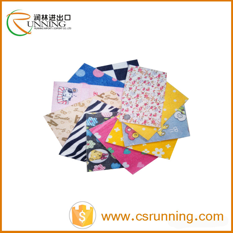 pp spunbond printed non woven fabric