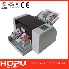 HOPU machine card electric cutter a3 size business name card cutter