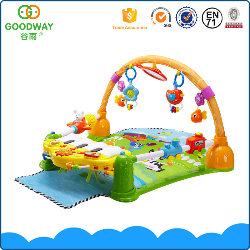 Eco-Friendly Safe Plastic Abs Material Kid Activity Toys Baby Play Gym Mat