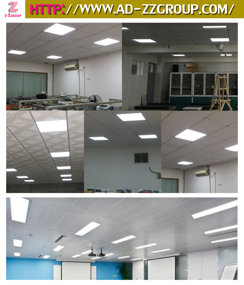 Surface Mounted Recessed And Embedded LED Panel Light For Ceiling And Wall
