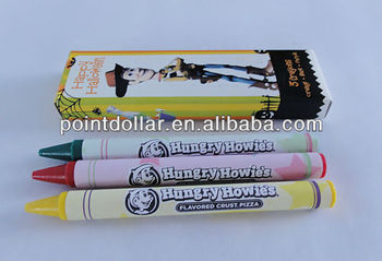 Crayon Set 3, 3 pcs packing in a printing box, for children