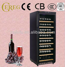 180 bottles compressor with lock bacardi wine cooler