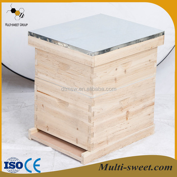 Multi-sweet two layers 8 and 10 frames bee hive langstroth beehive