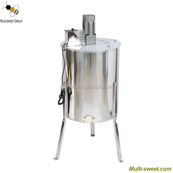 Multi-Sweet supply manual honey centrifuge processing machine, electric motor honey extractor used for extraction