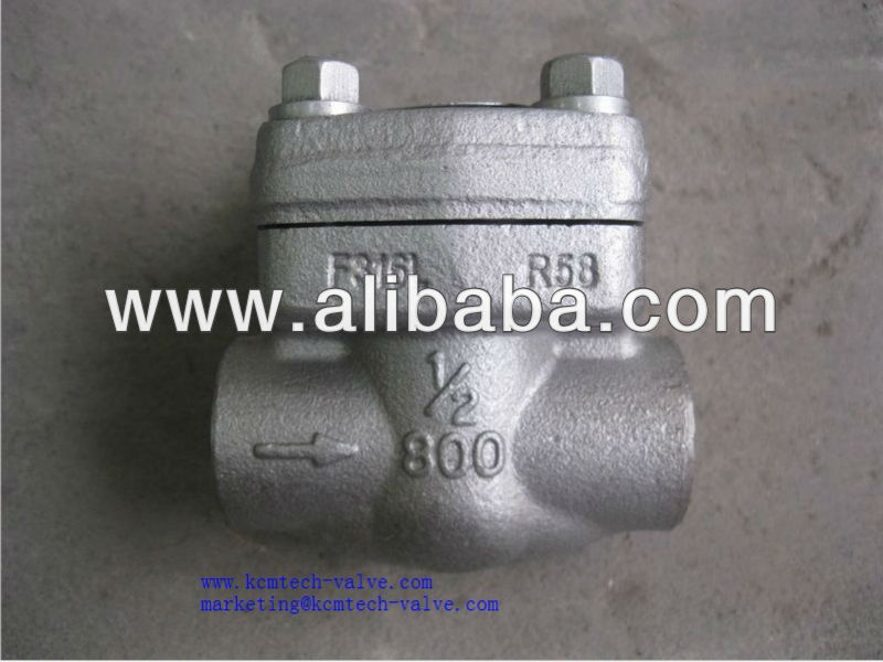 Forged check valve(A105N,304,316)