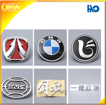 Shenzhen factory price ABS material Chrome plated car logo badge/emblem