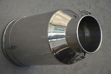 Stainless steel new milk cans for sale