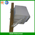 stainless steel outdoor cabinets for pole mount SK185