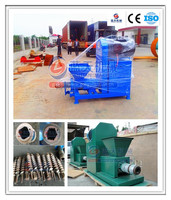 Long burn time and enery saving biomass/agriculture waste/coconut charcoal briquette machine