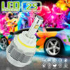 New product White Amber Pink Blue lampshade led 9004 headlight