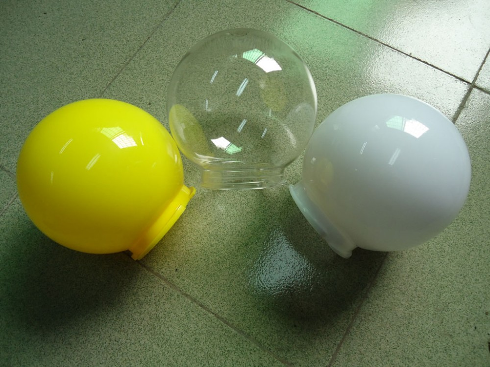 pmma/pc sphere shade, pmma shpere shade, lamp shade