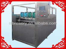 Automatic beer keg washer machine