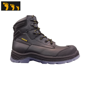 acids resistant leather industry work boots