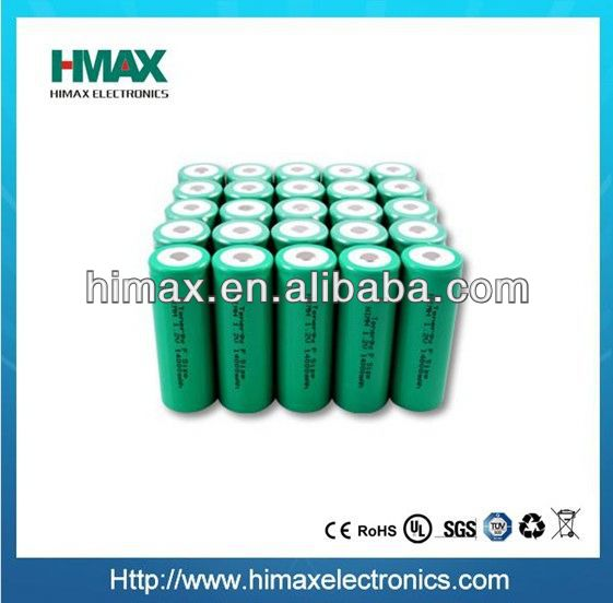 NiMH AA 1.2V 800mAh rechargeable battery