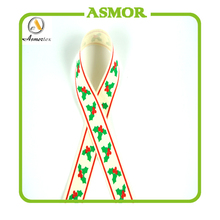 polyester custom printed wholesale grosgrain ribbon tape