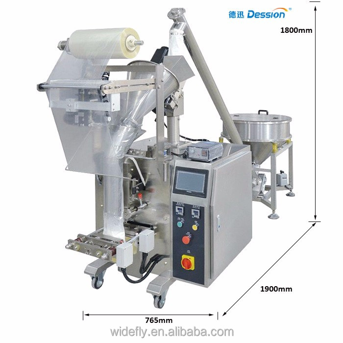 Automatic vertical sachet packaging machine for power granule species