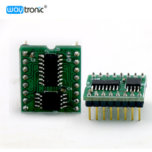 Serial Port Communication MCU Control Flash Memory WAV Audio Chip Module with PCM Decoding