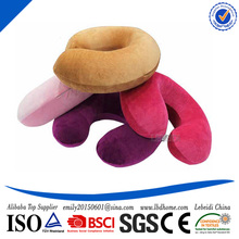 China Well Known Supplier Best Service Logo Customized Memory Foam Neck Support Pillow