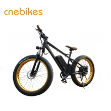Professional 26inch 48v 750w fat tire ebike snow electric bicycle manufacturer