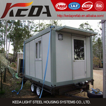 recycling removable container house/shop/kiosk