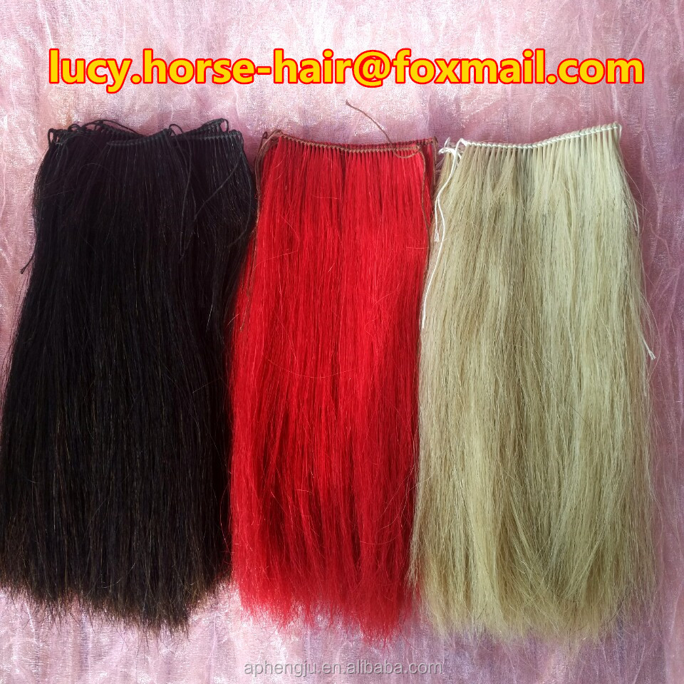 Wholesale high quality horse forelock extensions for horse racing