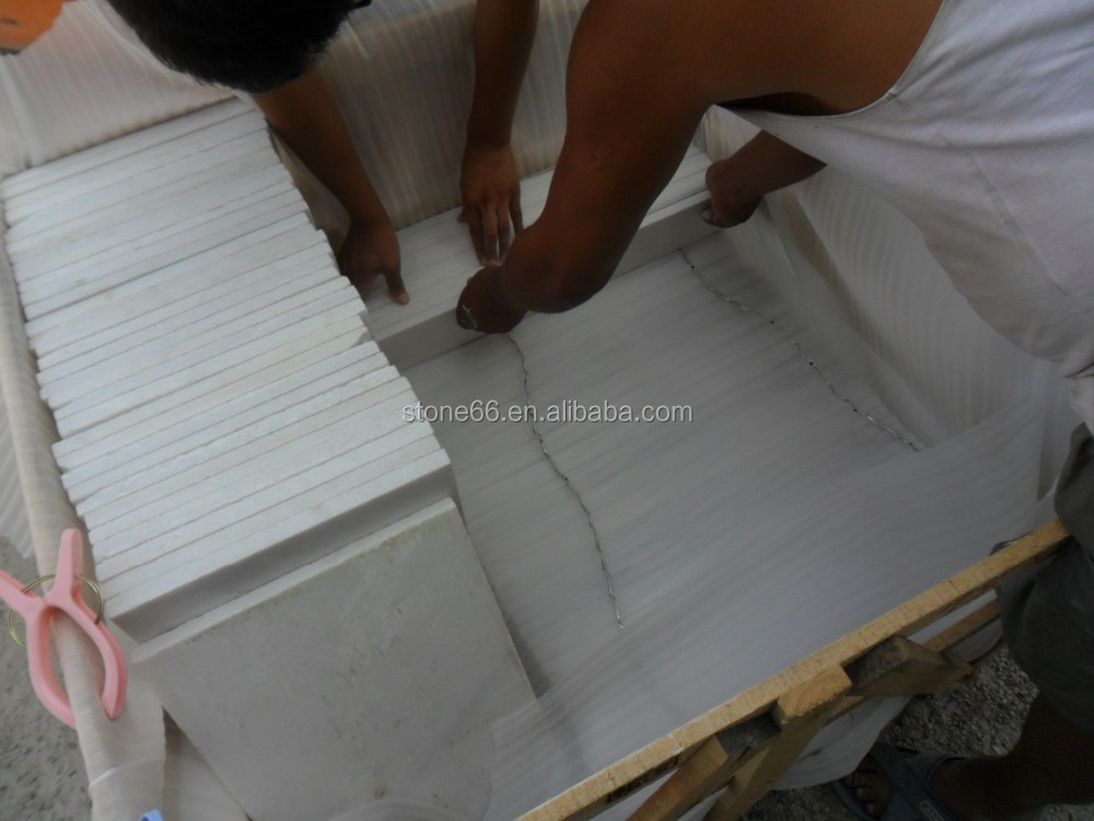 2015 new product stonecomposite construction building modern house white marble