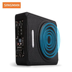 singman 10inch 12V slim under seat car active subwoofers with bass