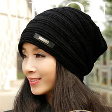 YOUME Brand Beanies Knit Winter Hats For Men Women Beanie Men's Winter Hat Caps Bonnet Outdoor Ski Sports Warm Baggy Cap