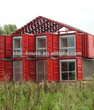 prefabricated luxury container living home container villas