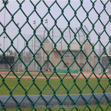 High Quality Easily Assembled Heat Treated Metal Diamond Mesh Fence