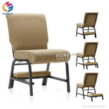 Hot Sell Item Stacking Metal Church Chair Theater Seat