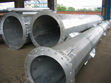 electric power steel poles