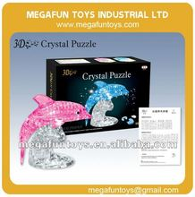 95pcs Crystal Puzzle Series Dolphin Shaped 3D Puzzles for Adults