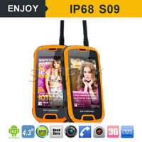 3G IP68 Rugged Android Smart Phone NFC. walkie talkie optional
